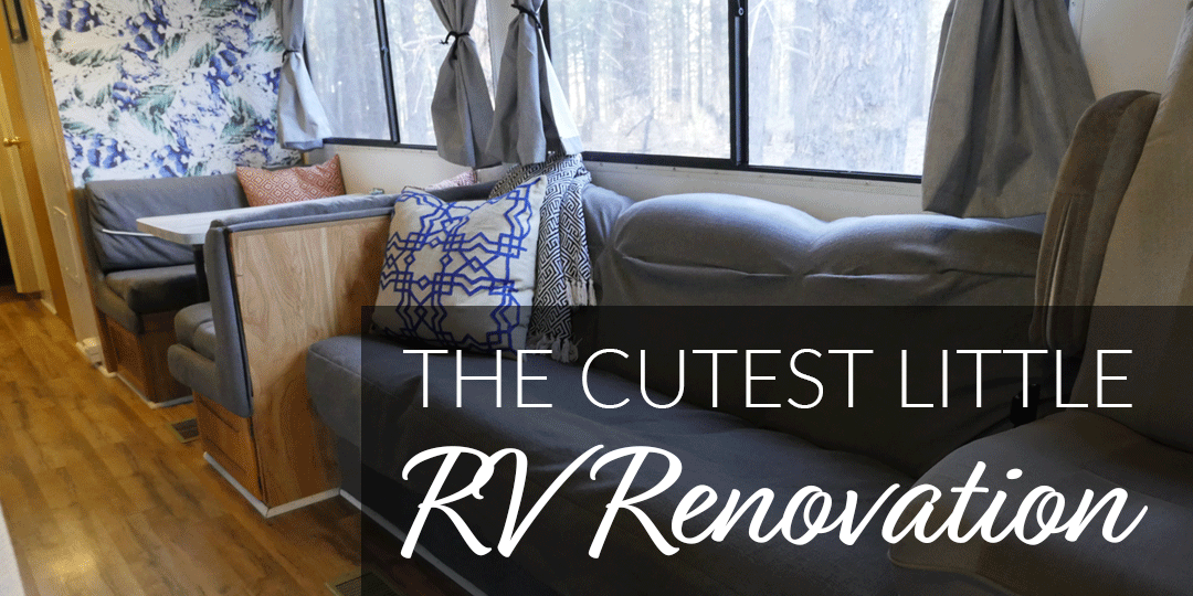 Check Out the Cutest Little RV Renovation You'll Ever See