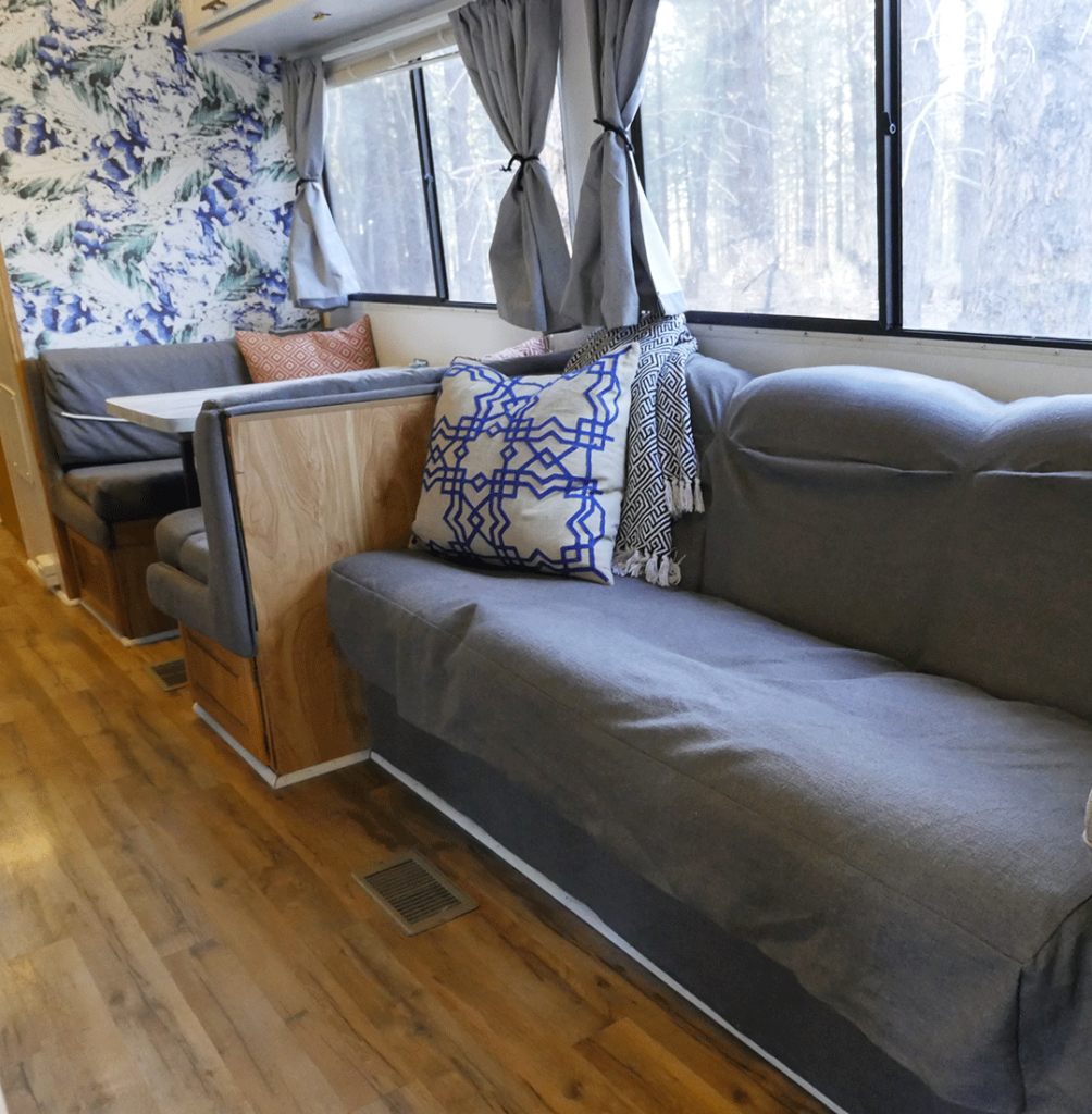 RV renovation flooring