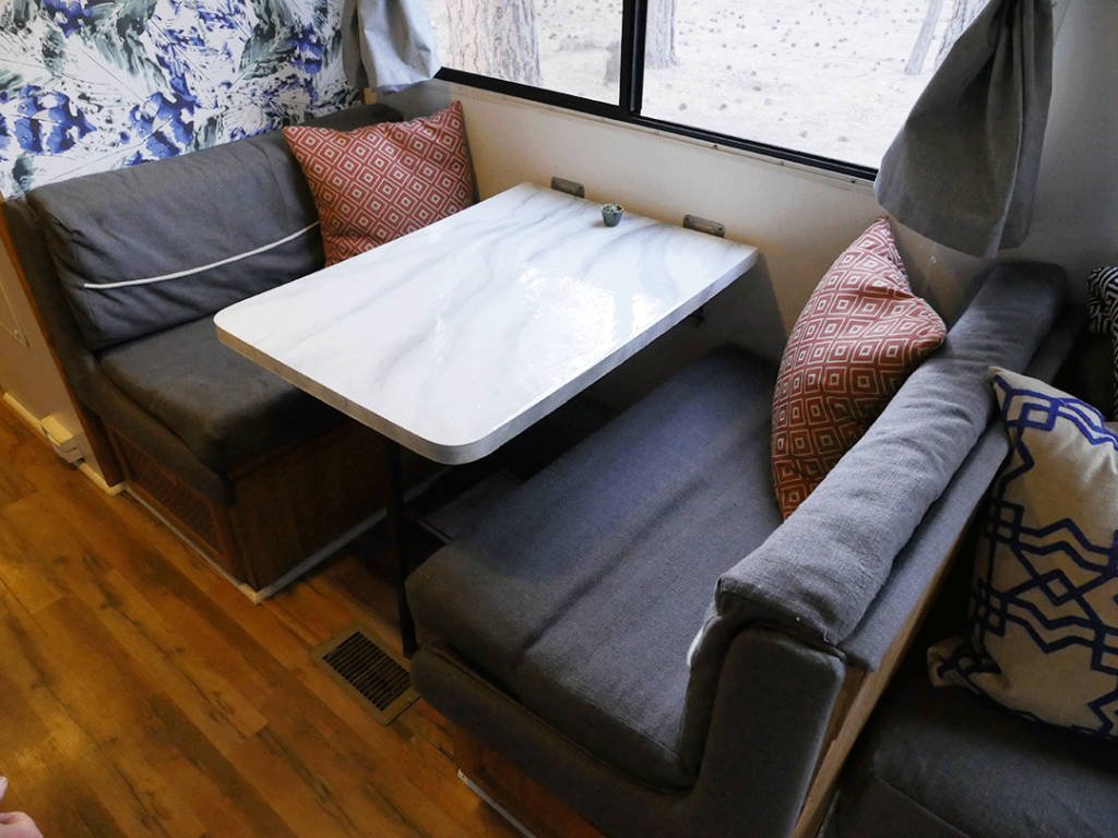 RV Renovation - dinette table