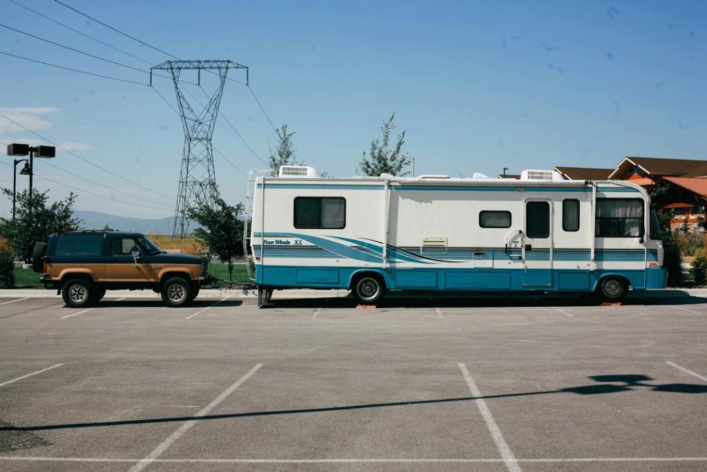 Overnight Parking Lot RV Camping