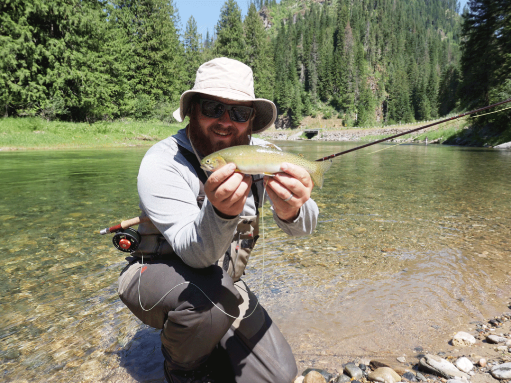 Simple sunday spokane wa and idaho for Simple fly fishing