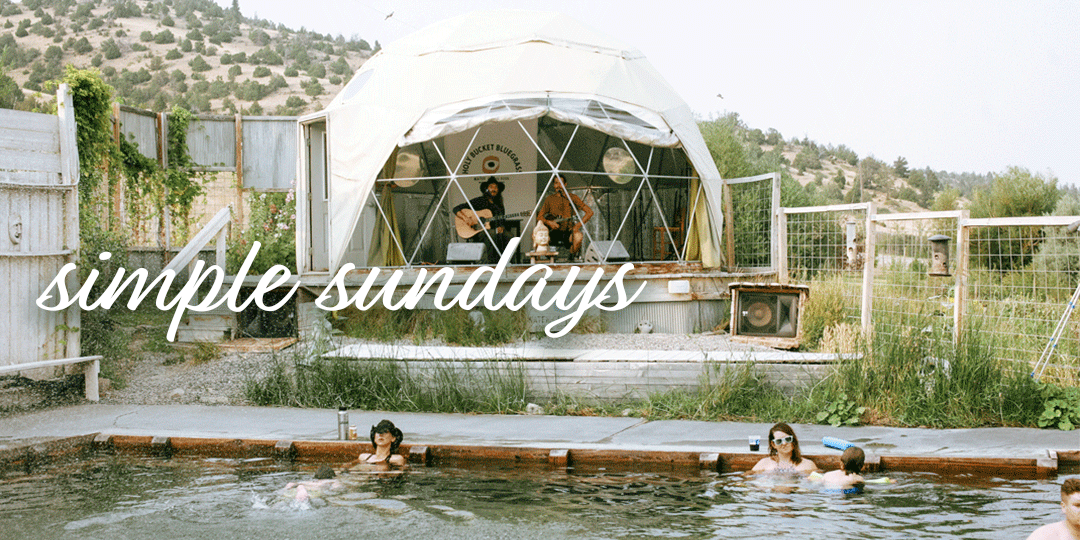 Simple Sunday | Montana + Norris Hot Springs