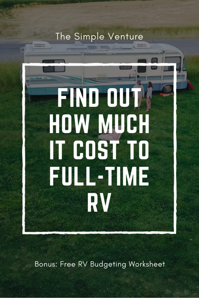 the ultimate guide how much does it cost to full time rv. Black Bedroom Furniture Sets. Home Design Ideas