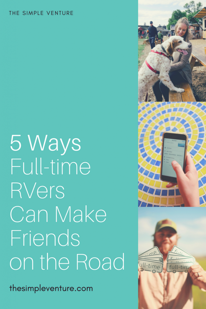 Here's how full-time RVers make friends while traveling