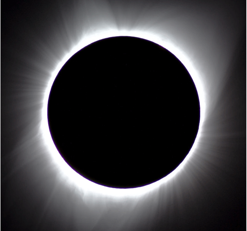 Solar Eclipse: Path of Totality