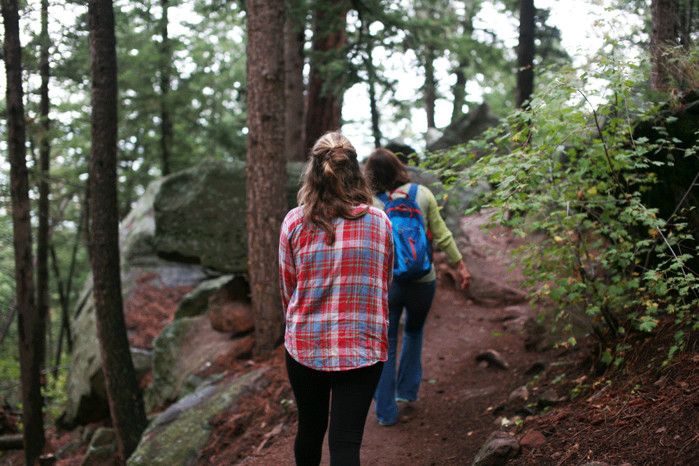 Boulder Arches Hike