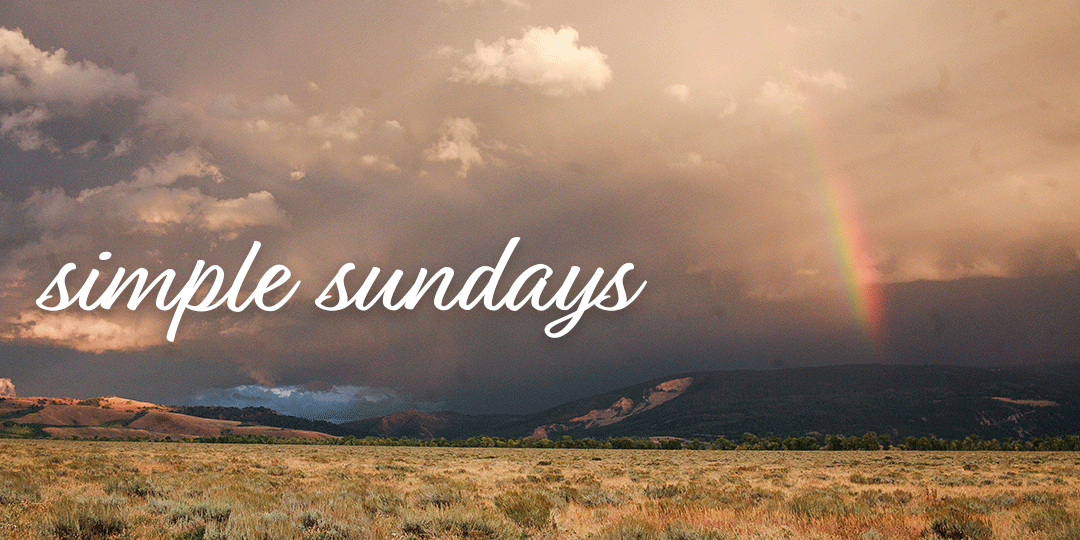 Simple Sunday | Yellowstone to Badlands and Everything in Between