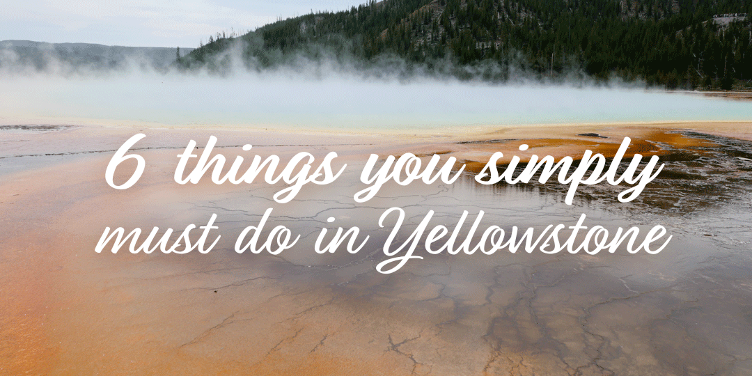 6 Things You Simply Must Do in Yellowstone National Park