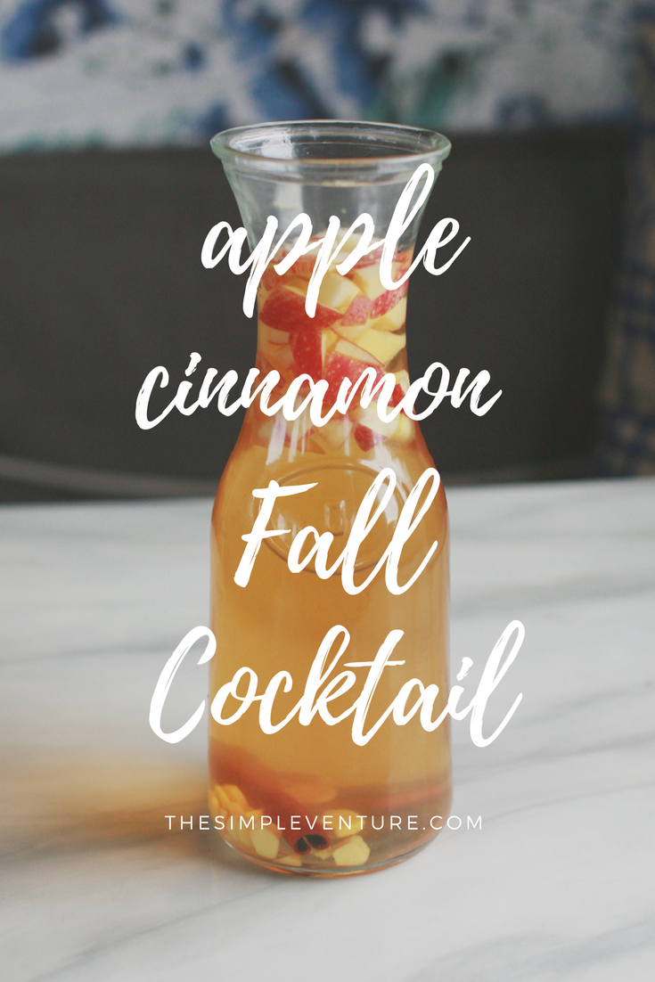 Apple Cinnamon Fall Cocktail Recipe