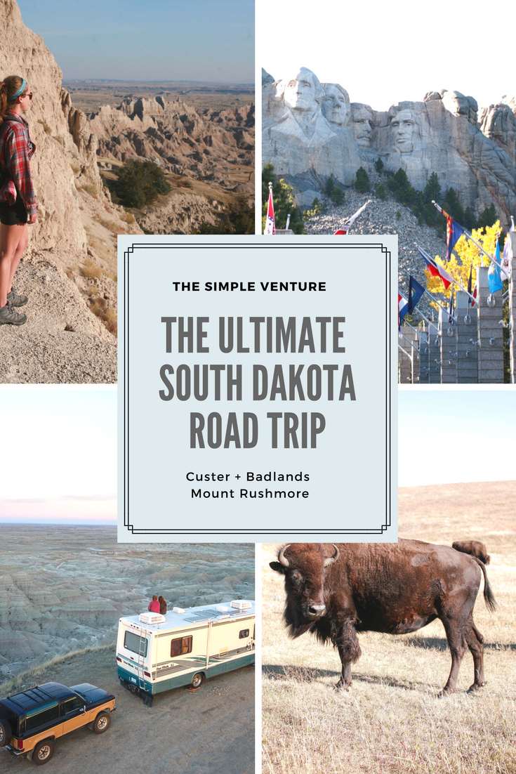 The Simple Venture South Dakota RV Trip